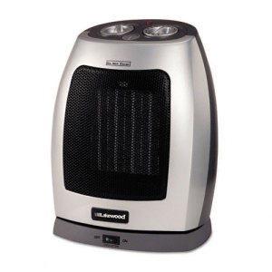 Lakewood Fan-Forced 1500W Oscillating Ceramic Heater - LAKCR30OSC